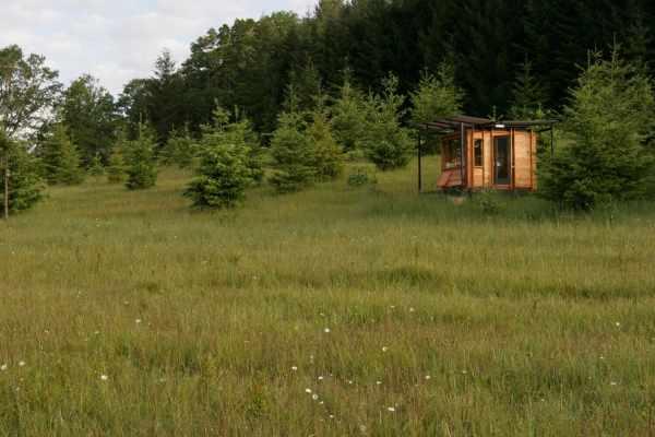 image عکس های دیدنی اتاق مخصوص نویسندگی در طبیعت با نقشه ساخت