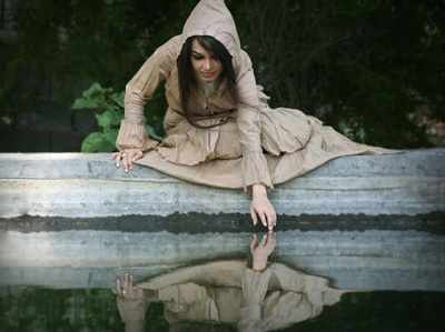 image, ریشه ضرب المثل فارسی هر که نقش خویش می بیند در آب