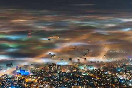 image عکس زیبای هوای مه آلود صوفیه پایتخت بلغارستان