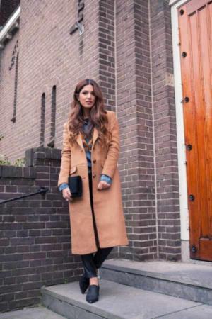image عکس لباس های زیبای پاییزی با ترکیب رنگ قهوه ای برای خانم ها
