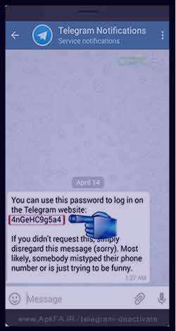 image, آموزش عکس به عکس حذف حساب تلگرام برای همیشه