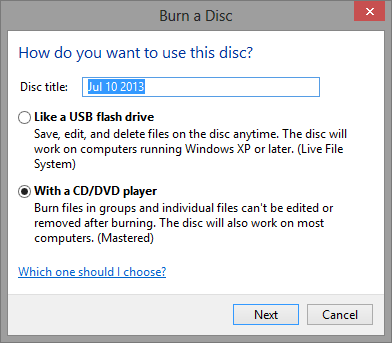 image, آموزش تصویری رایت CD یا DVD با کامپیوتر