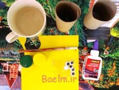 image, آموزش عکس به عکس ساخت کاردستی هشت پای بامزه