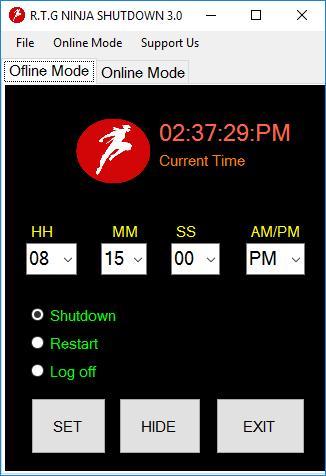 image آموزش تصویری خاموش کردن ویندوز در ساعت تعیین شده
