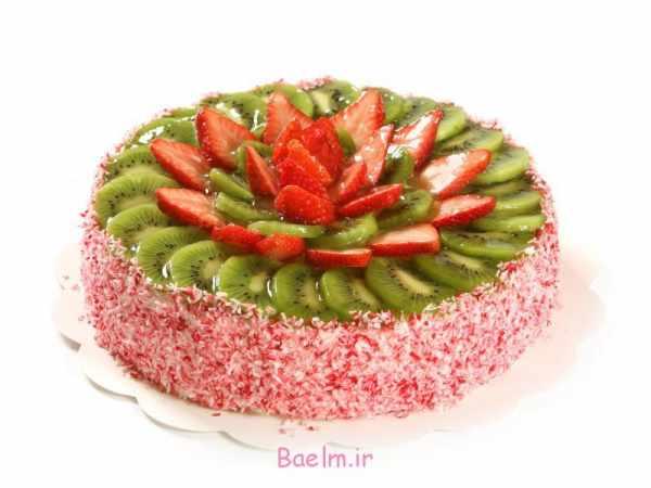 image نمونه تزیین های بسیار زیبا و کمیاب برای کیک تولد و نامزدی