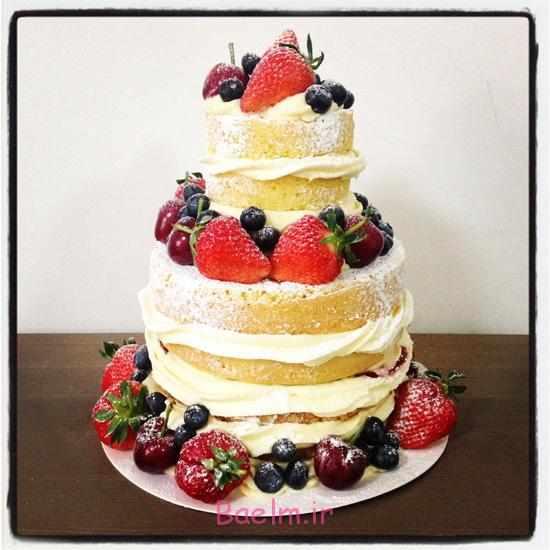 image, نمونه تزیین های بسیار زیبا و کمیاب برای کیک تولد و نامزدی
