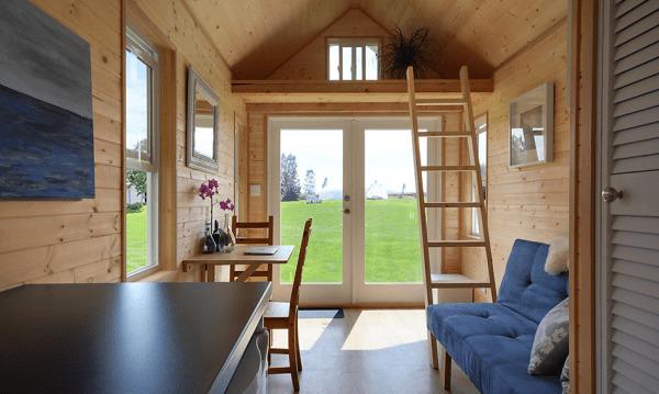 image عکس های کامل و دیدنی از کوچکترین خانه دوطبقه جهان با توضیحات