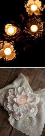 image آموزش عکس به عکس ساخت جاشمعی تزیینی با وسایل اضافی