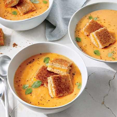 image, چطور با گوجه فرنگی سوپ درست کنیم با آموزش آن