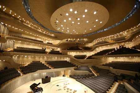 image تصویر ساخت سالن جدید کنسرت در شهر هامبورگ آلمان