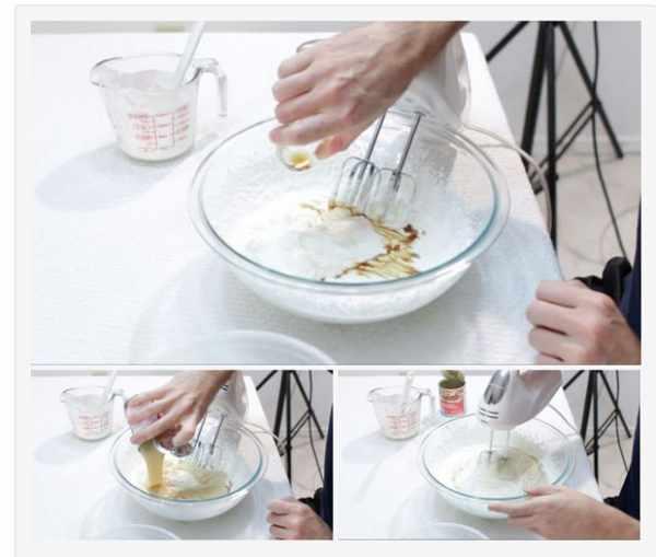 image آموزش تصویری تهیه سریع بستنی خامه ای وانیلی در خانه