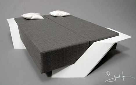 image عکس های جدید مدل تختخواب مدرن شناور