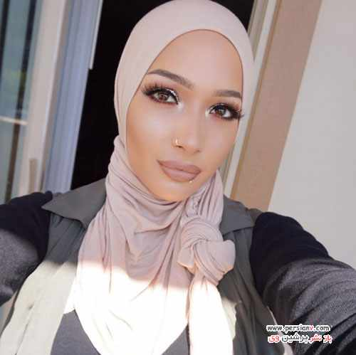 image, عکس های دیدنی نورا دختر مسلمان مدل تبلیغات برندهای معروف