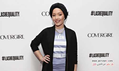 image عکس های دیدنی نورا دختر مسلمان مدل تبلیغات برندهای معروف