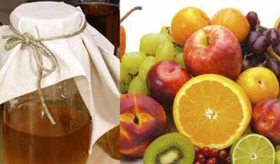 image چطور با استفاده از میوه های مانده در خانه سرکه مرغوب درست کنیم