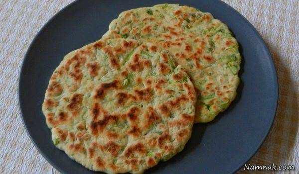 image, طرز تهیه نان سالم رژیمی و خوشمزه با کلم