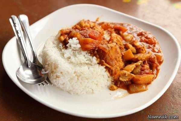 image طرز تهیه برنج و مرغ به روش افریقایی ها