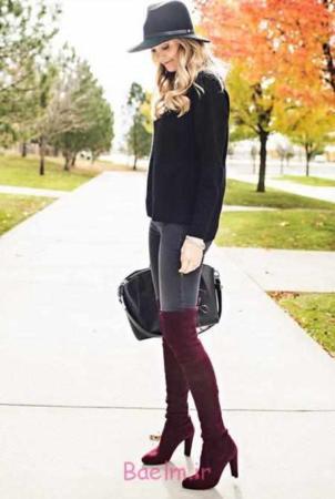image, مدل لباس های شیک زنانه ست رنگ طوسی