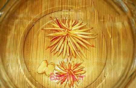 image آموزش عکس به عکس تزیین ژله آلوئه ورا گل