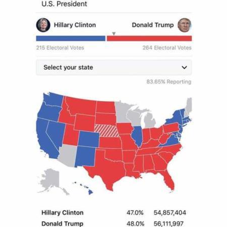 image, نتیجه قطعی انتخابات ریاست جمهوری آمریکا هیلاری کلینتون یا دونالد ترامپ