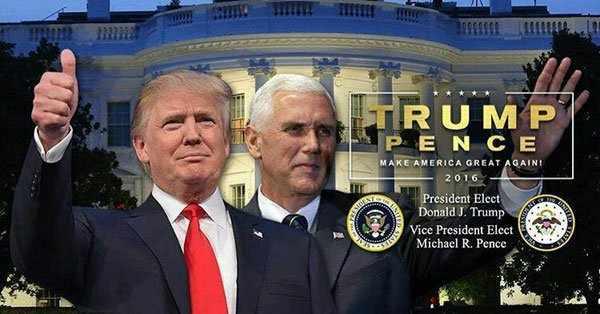 image, اولین عکس ترامپ در صفحه توییتر شخصی اش بعد از رئیس جمهور شدن
