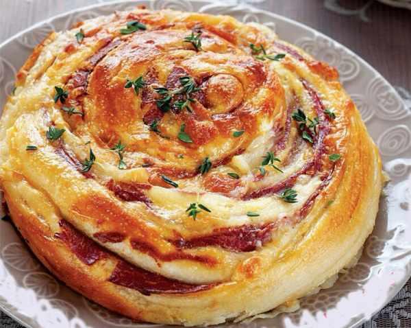 image آموزش پخت پیتزا رولی خوشمزه برای جشن تولد