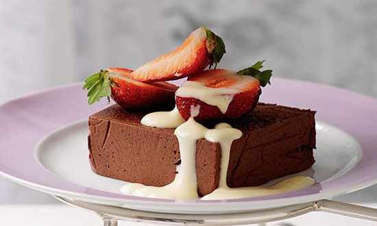 عکس, طرز تهیه دسر شیک و خوشمزه شکلاتی فرانسوی