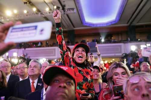 image, عکس های دیدنی از شادی و ناراحتی مردم امریکا بعد از انتخاب ترامپ