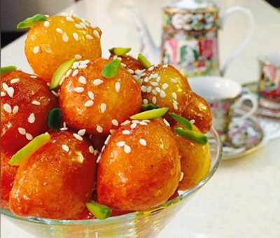 image, آموزش نحوه پخت شیرینی خوشمزه و جنوبی لگیمات لیقمات
