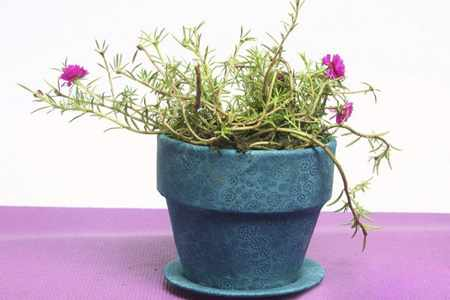image, آموزش عکس به عکس تزیین گلدان های گلی قدیمی