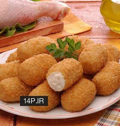 image, طرز پخت شام سبک فرانسوی کوفته کروکت