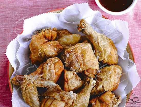 image آموزش پخت سریع مرغ کنتاکی در خانه