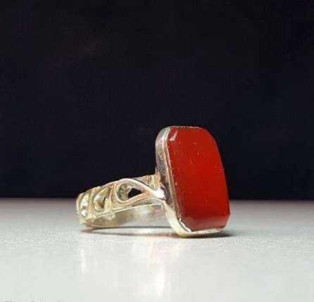 image, عکس مدل های زیبا از انگشترهای عقیق برای آقایان