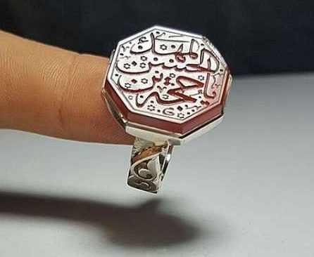 image عکس مدل های زیبا از انگشترهای عقیق برای آقایان