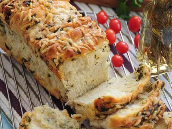 image, آموزش پخت نان سیر خوشمزه و عطردار در خانه