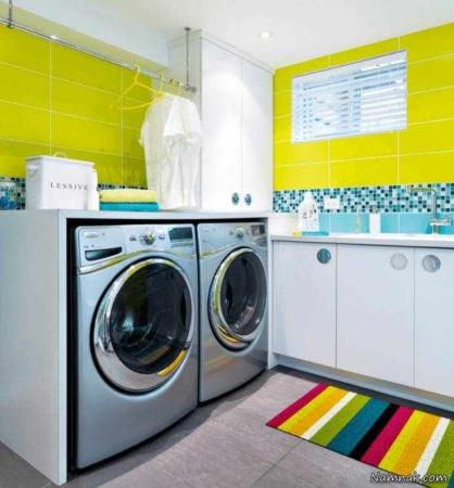 image چطور اتاق لباسشویی در آپارتمان خود داشته باشیم با عکس