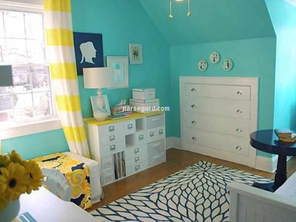 image ترفندهای جالب برای بزرگ نشان دادن اتاق خواب کوچک