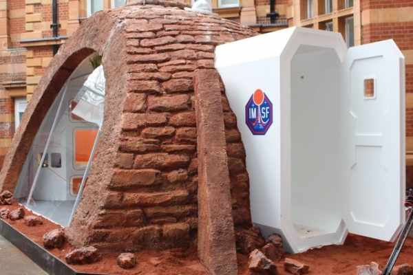 image عکس های دیدنی از خانه هایی که در مریخ ساخته خواهد شد