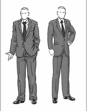 image, آموزش تصویری چطور لباس بپوشیم تا برای خانم ها جذاب باشیم