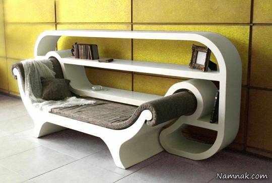 image, طراحی های زیبای صندلی کتابخوانی و کتابخانه برای فضاهای کوچک