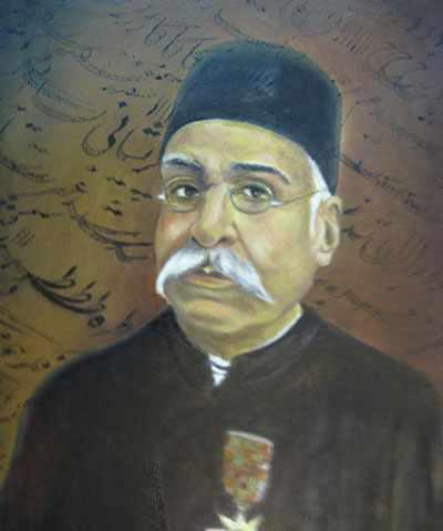 image تمثال دو زلف و رخ آن یار کشیدم از شاعر فرصت شیرازی