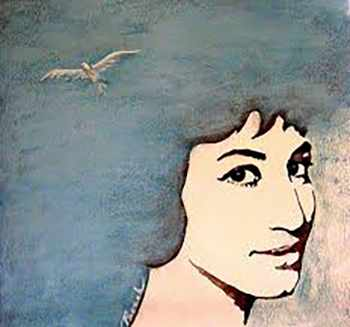 image, متن کامل شعر زیبای شوق از شاعر فروغ فرخزاد