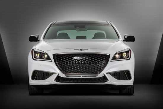 image تمام عکس هاو مشخصات خودروی G80 جنسیس ۲۰۱۸