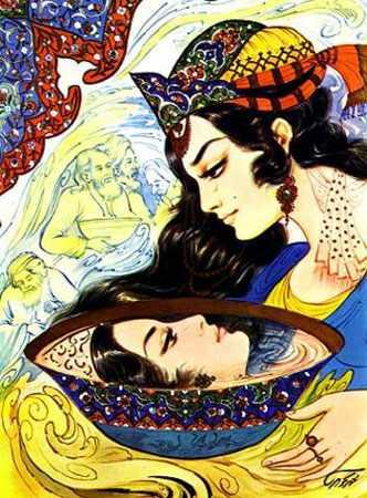 image, شعر زیبای اگر آن ترک شیرازی به دست آرد دل ما را شاعر حافظ