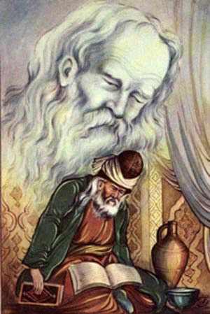image شعر زیبای از پای درافتادم و خون شد جگر من شاعر عطار نیشابوری