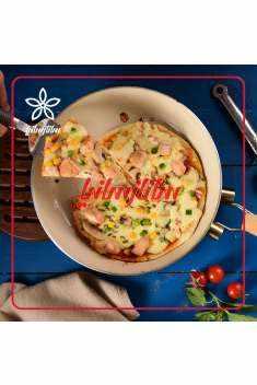 image آموزش نحوه پخت چیکن پیتزاپن خانگی