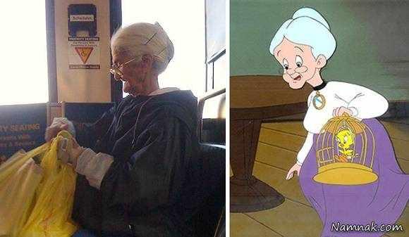 image, عکس آدم های واقعی که شبیه شخصیت های کارتونی هستند