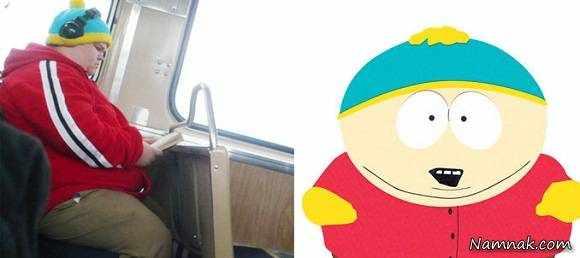 image عکس آدم های واقعی که شبیه شخصیت های کارتونی هستند