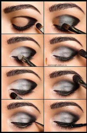 image, آموزش تصویری پنج مدل شیک آرایش چشم برای خانم ها