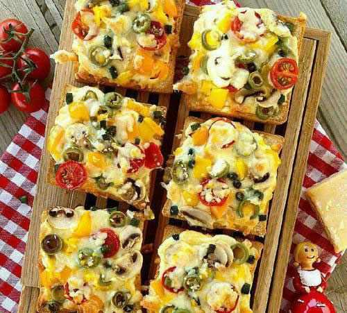 image آموزش پخت پیتزای فوری بدون نیاز به خمیر پیتزا